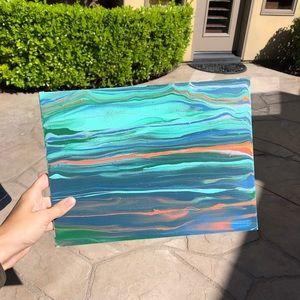 Handmade Painted Canvas